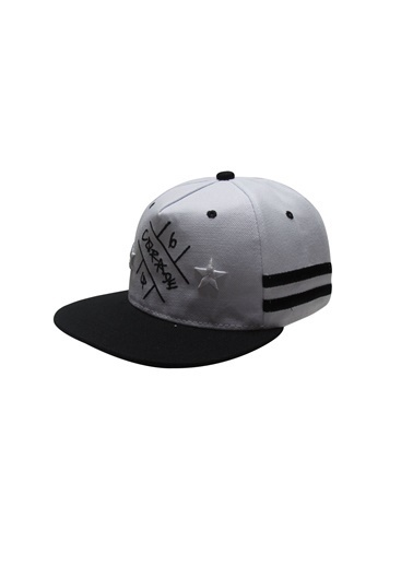 Laslusa Hip Hop Snapback Şapka Beyaz